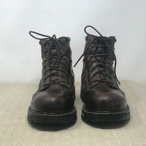 34c31659fbe Cabela's Goretex Hiking Work Boots Steel Toe 10